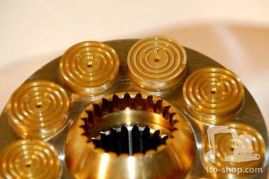 Morooka MST1500 Zylinderblock